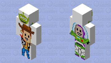 Toy story ~ pixel  art ~ ce Minecraft Skin