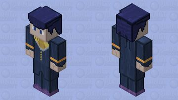 JJBA Josuke Higashikata pt4 Minecraft Skin