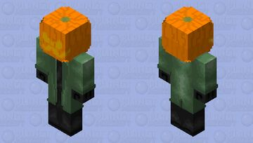 PumpKing Spooktober 2020 Minecraft Skin