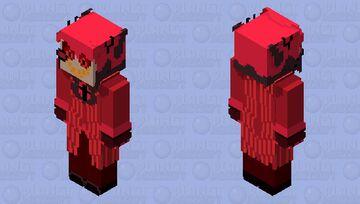 Alastor the Radio Demon | Hazbin Hotel 📻 🎤 🔥😈🦌✡️ Minecraft Skin
