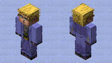 Kira Yoshikage「DIAMOND IS UNBREAKABLE」- Jojo's Bizarre Adventure HD Skin Minecraft Skin