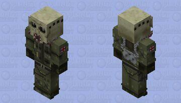 Smoke (Doktor's Curse) | R6S Minecraft Skin