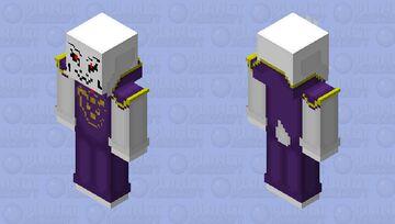 UnderTale - Asriel Dreemurr (Colored) Minecraft Skin