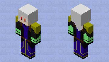 Kiya Arsonle Miller[Heavens] | Time's End | Bedrock Edition Minecraft Skin