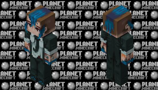 Sydney    Payday 2 Minecraft Skin