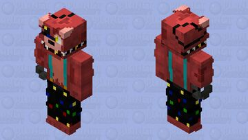 Starlight Foxy Minecraft Skin