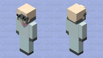 Tom Trench the Gas Mask Demon | Hazbin Hotel Minecraft Skin