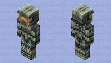 Halo Master Chief Mark VI Minecraft Skin