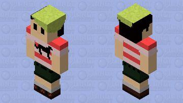 Strait up Me (updated) Minecraft Skin