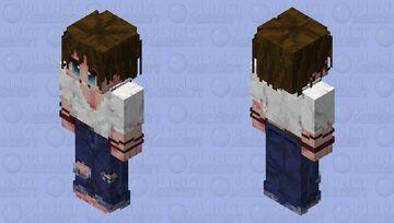 Grunge Hippie Mister (Teen Version) Minecraft Skin