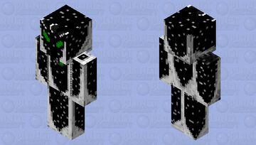 Ben 10 with alien x outer layer Minecraft Skin
