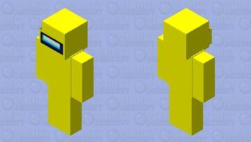 Among Us JAVA (Yellow) Minecraft Skin