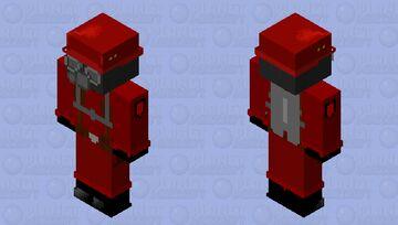flame trooper Minecraft Skin
