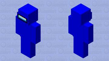 Among Us Java (Blue) Minecraft Skin