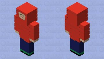 Generic red puffer jacket Minecraft Skin