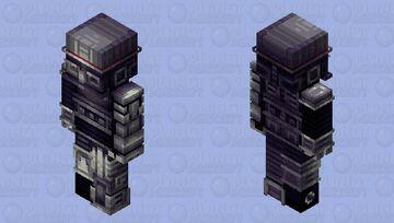 Fancy scrap || Land of robots Minecraft Skin