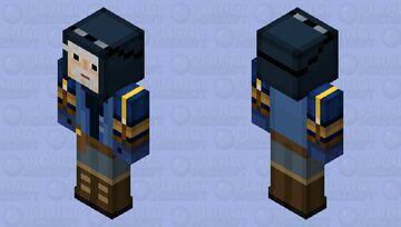 Vos (Minecraft Story Mode) Minecraft Skin