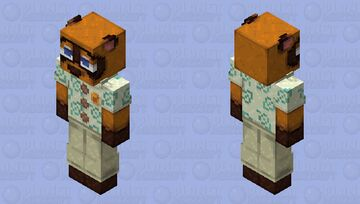 Tom Nook Minecraft Skin