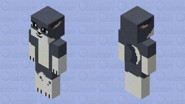 wolf HD (blue-gray) Minecraft Skin