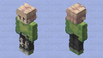 Dream No mask variant Minecraft Skin