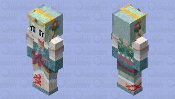 Chika Misumi (Christmas) (三角 千歌/チカ) Minecraft Skin