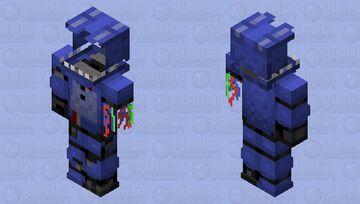Withered Bonnie Minecraft Skin