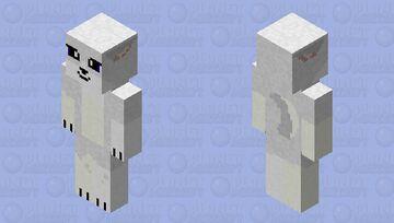 wolf HD (silver) Minecraft Skin