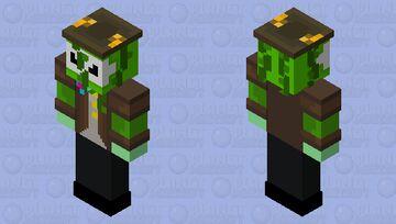 CC Green boss HD (for bedrock) Minecraft Skin