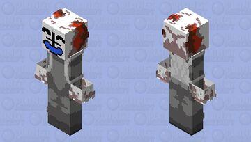 Tricky Phase 0 - Madness  Combat - Friday Nigth Funkin' Minecraft Skin