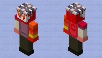 CC Red Boss HD (for bedrock) Minecraft Skin