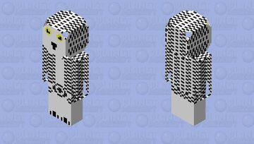 snowy owl Minecraft Skin
