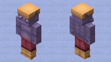 Snow Gnorc | Spyro Minecraft Skin