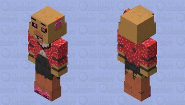 MNAF Senary Saloon- Starlet Chica Minecraft Skin