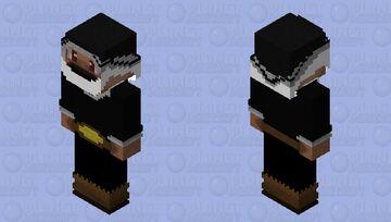 Black Santa Claws Minecraft Skin