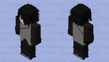 Sasuke vs momoshiki Minecraft Skin