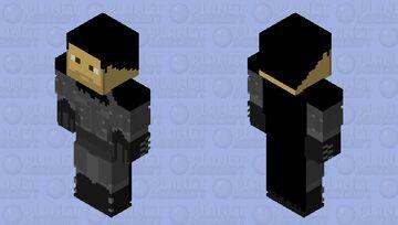 Batman: Arkham Origins unmasked Minecraft Skin
