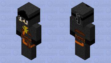LEGO Ninjago Lilly (Cole 's mother) ninja form Master of the Mountain season 13 HD Minecraft Skin