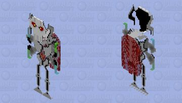 Star Wars Grievous with lightsabers Minecraft Skin