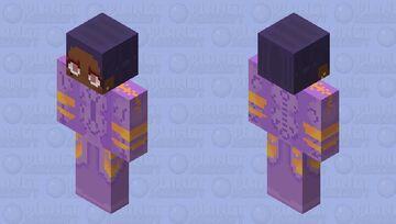 Ultraviolet Hero Minecraft Skin