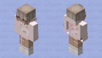 """~Ahego~""""Clear the shadows that fall behind you.."""" Minecraft Skin"""