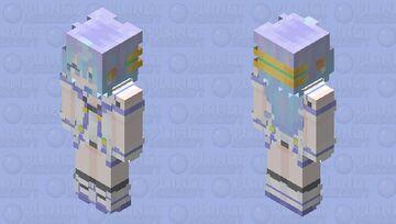 Hacker idol ' 3 ' Minecraft Skin