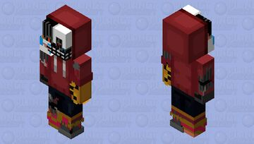 Brian HD (Revamped, scrapped and hood up) Minecraft Skin