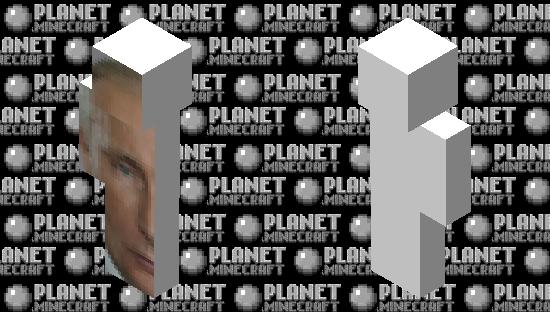Big Putin Left Minecraft Skin
