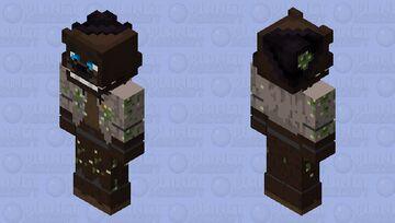 MNAF Senary Saloon- Cowpoke Freddy Minecraft Skin