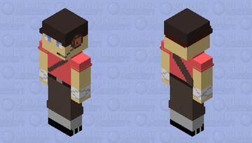 Scout TF2 Minecraft Skin