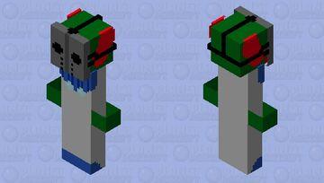 tricky fnf (mask) Minecraft Skin