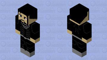 Superman (Black Suit) Rebirth Minecraft Skin
