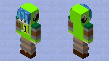 ONE YEAR HOODIE FOR ME Minecraft Skin