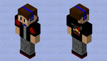 Redstone Monstrosity Minecraft Skin