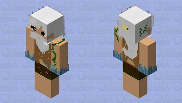 .Lost in sea. Minecraft Skin